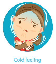 cold feeling thyroid problems